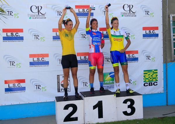 Pódio feminino da terceira etapa / Del Carlos Dedé - Divulgação