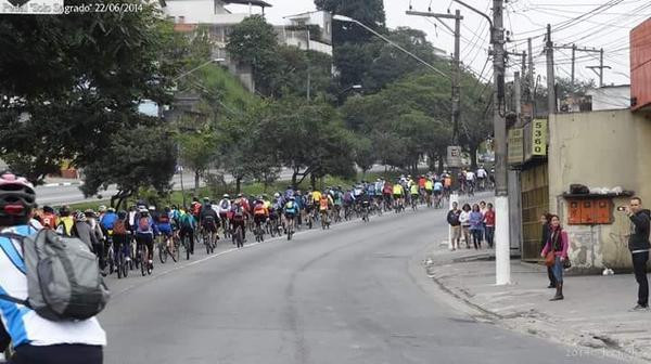 Passeio ciclístico em São Paulo (Divulgação)