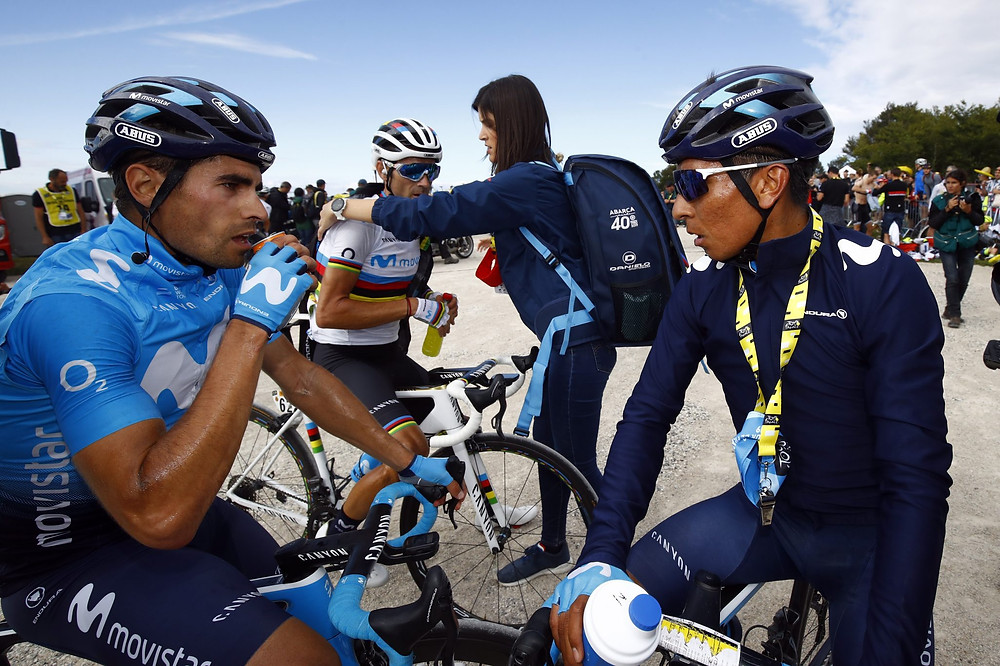 Landa e Quintana juntos no Tour 2019 / BETTINIPHOTO