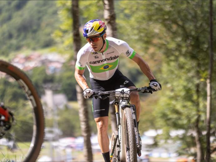 Henrique Avancini está na Suíça para etapa da Copa do Mundo de MTB, focado em retornar ao pódio