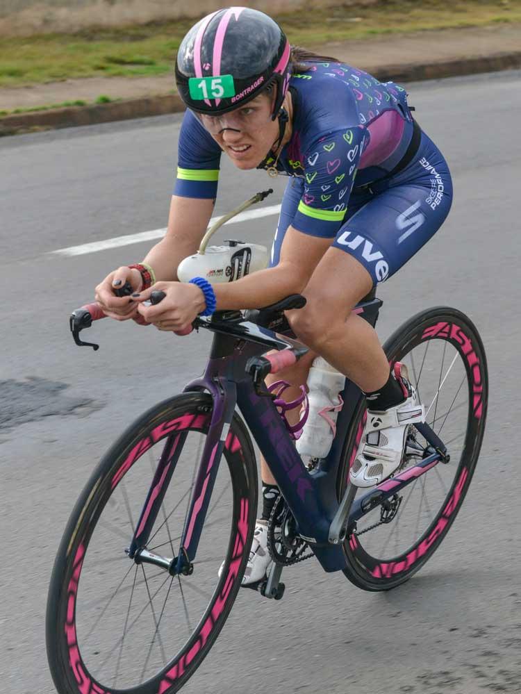 Carol Furriela pedalou forte para conquistar a prova / Ivan Padovani
