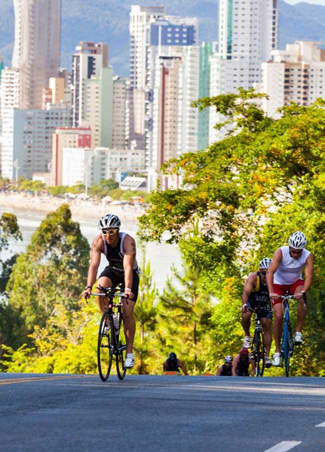 Fazendo força no ciclismo / Divulgação