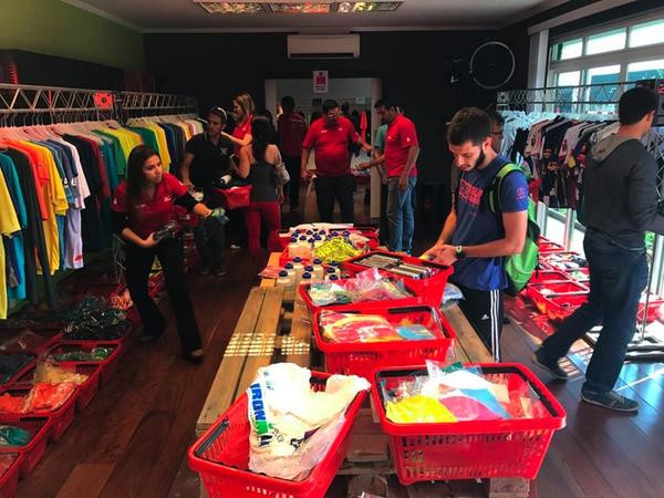 Bazar Solidário IRONMAN Brasil 2018  (Fábio Falconi/Unlimited Sports)