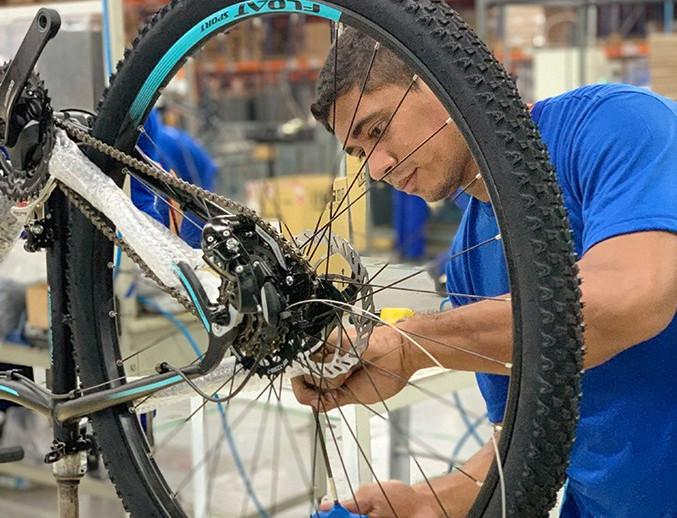 Abraciclo: produção de bicicletas registra 56 mil unidades em fevereiro