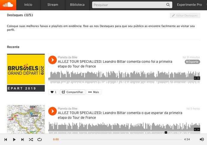 Tour de France começou neste sábado e agora você pode ouvir o podcast das etapas no Allez Tour Speci