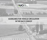 UCI divulga guia para o tráfego de veículos motorizados em corridas