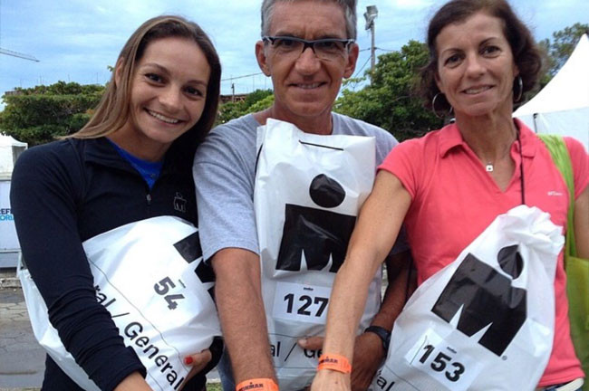 Família Garcia está pronta para mais um Ironman / Divulgação