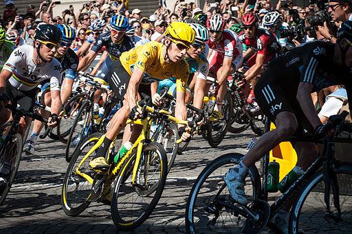 Wiggins no Tour de 2012 / Divulgação