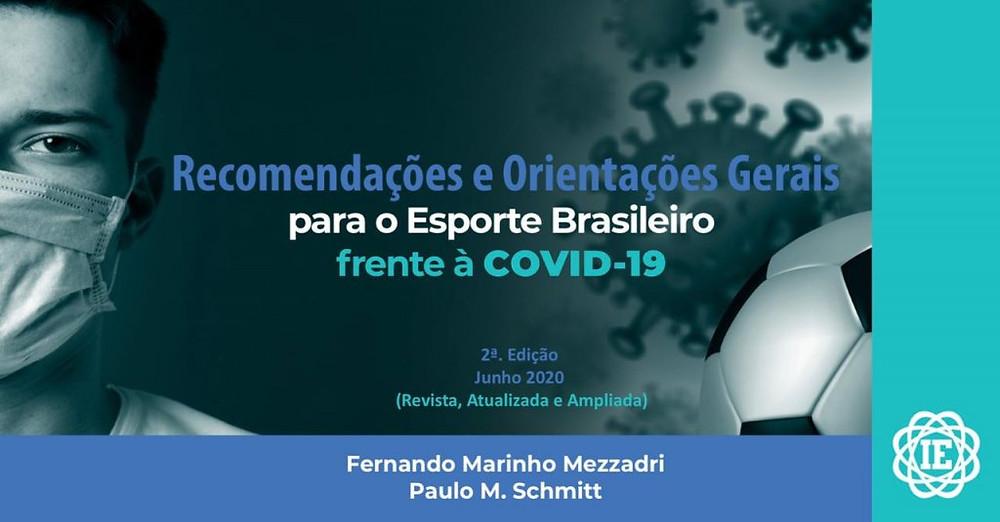 Recomendações IE Esporte Covid19 - Mezzadri & Schmitt / Versão 2 Crédito: Instituto de Pesquisa Inteligência Esportiva