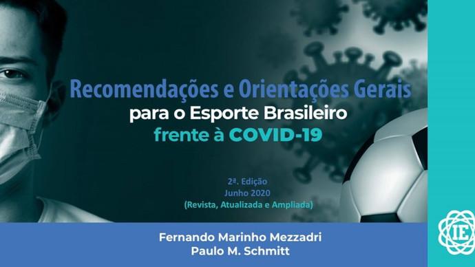 Segunda edição do Documento sobre o esporte brasileiro e a COVID-19