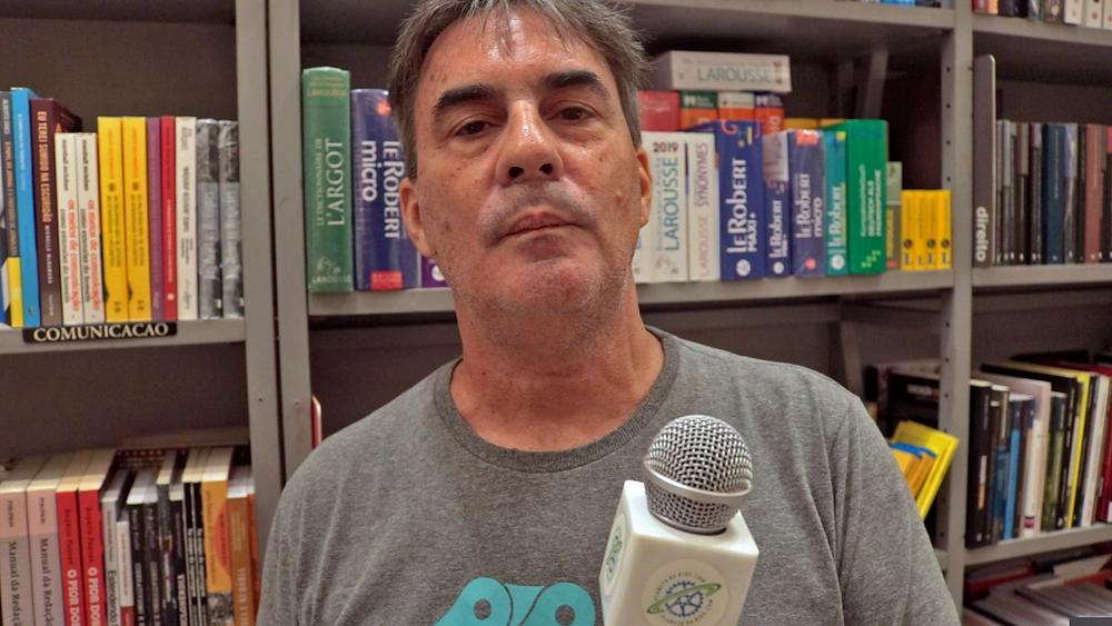 Zé Lobo da Ong Transporte Ativo / Márcio de Miranda - Planeta da Bike