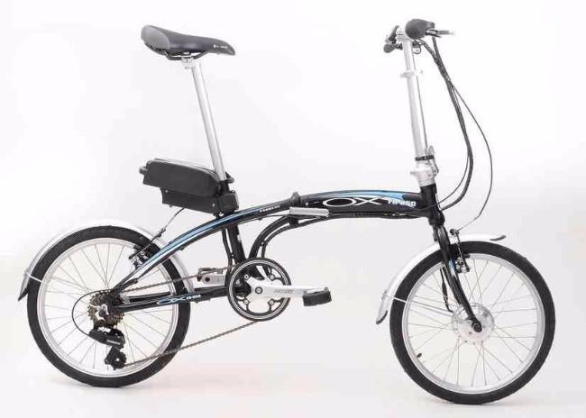 Bicicleta Elétrica e dobrável da Ox Bike / Divulgação