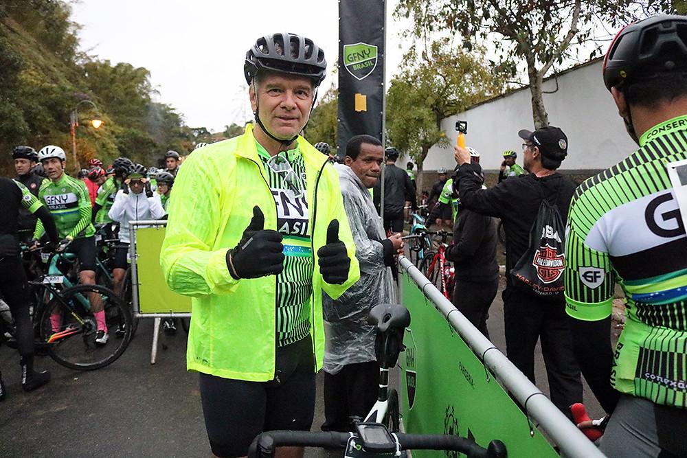Bernardinho antes da largada / Márcio de Miranda - Planeta da Bike