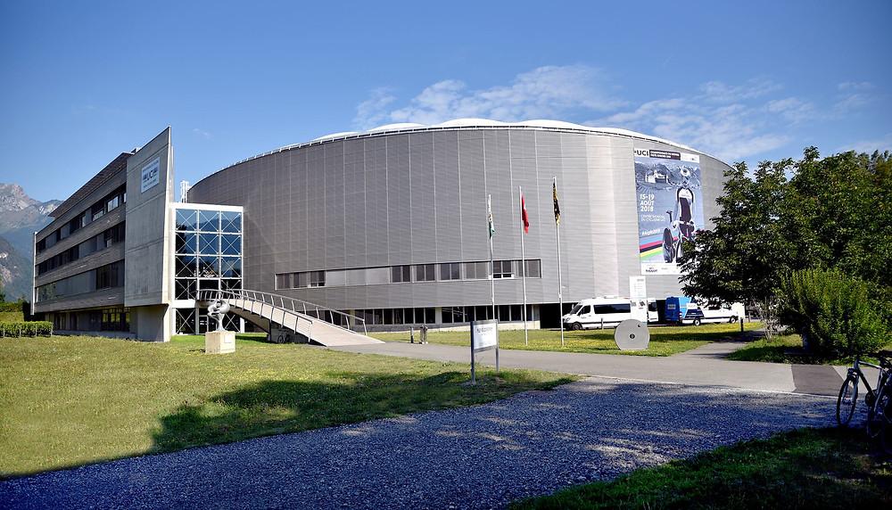 Centro Mundial de Ciclismo da UCI na Suíça /  Divulgação