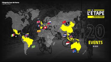 Conheça o calendário mundial do L'Étape by Tour de France