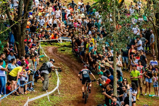 Raíza recuperou e levou a melhor na CIMTB Michelin (Foto: César Delong)
