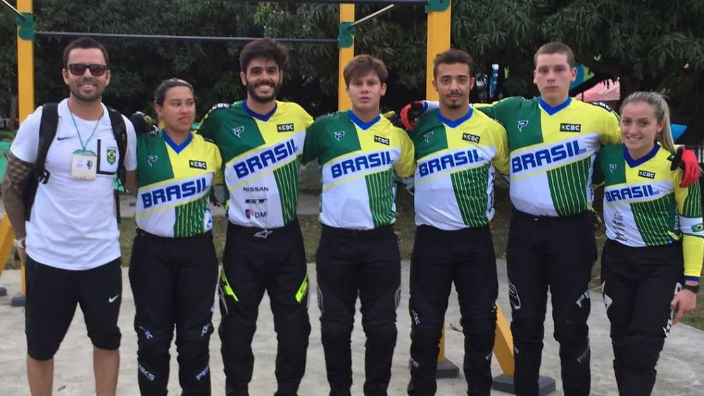 Seleção brasileira de BMX  / CBC/Divulgação