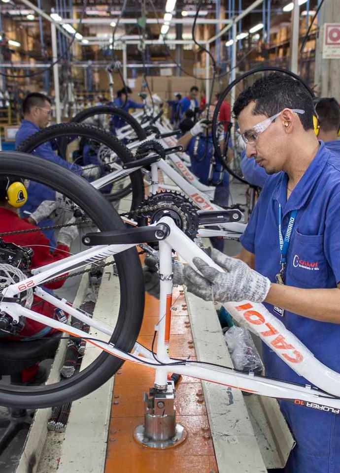 Indústria de bicicletas atinge o melhor primeiro trimestre desde 2015