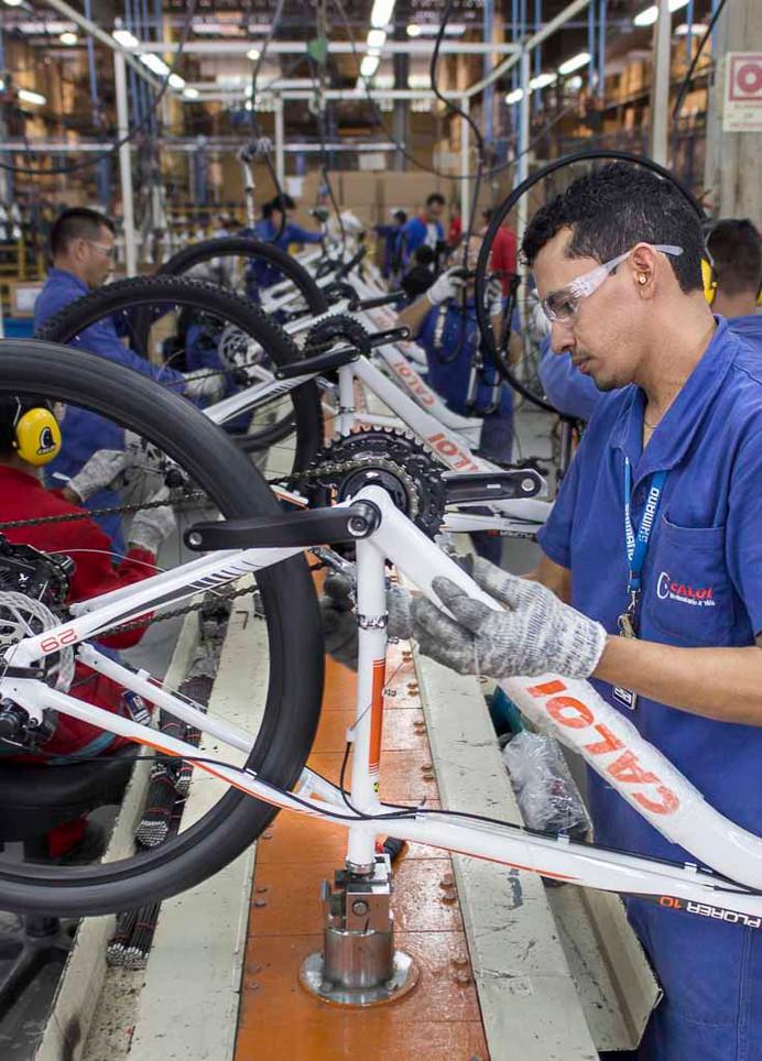 Produção de bicicletas no Brasil bate meta para 2019 em novembro
