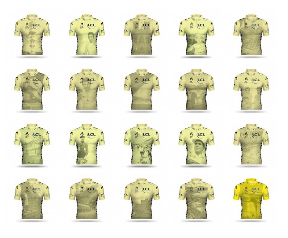 Todas as camisas / Tour de France