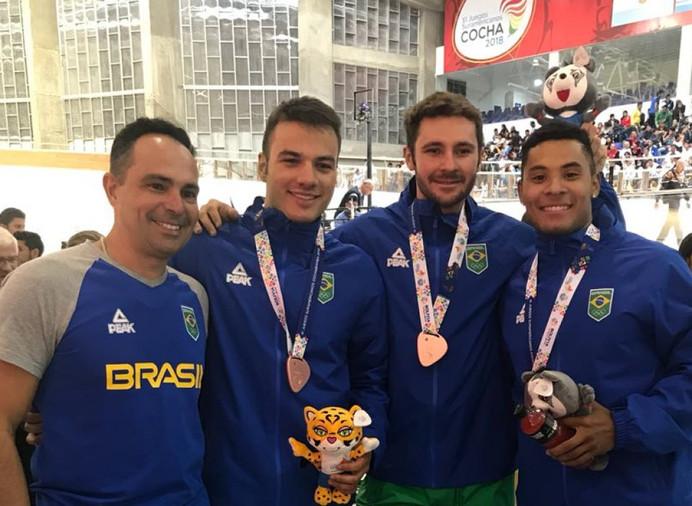 Equipe brasileira de Ciclismo de Pista é bronze nos Jogos Sul-Americanos