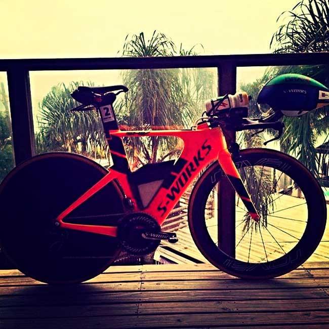 Bike pronta para a prova / Divulgação