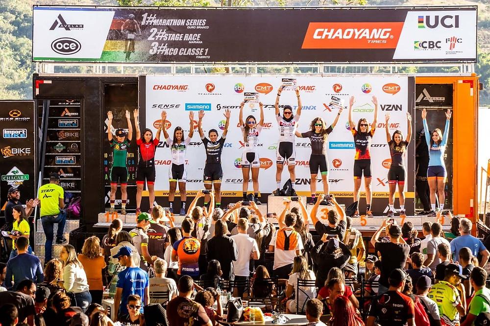 A campeã voltou / Divulgação  Maratona Internacional Estrada Real