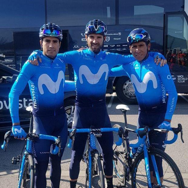 Landa, Valverde e Quintana / Divulgação