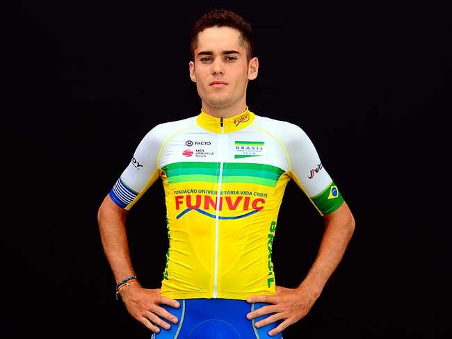 Caio Godoy é um dos jovens talentos do ciclismo nacional / Divulgação.jpg