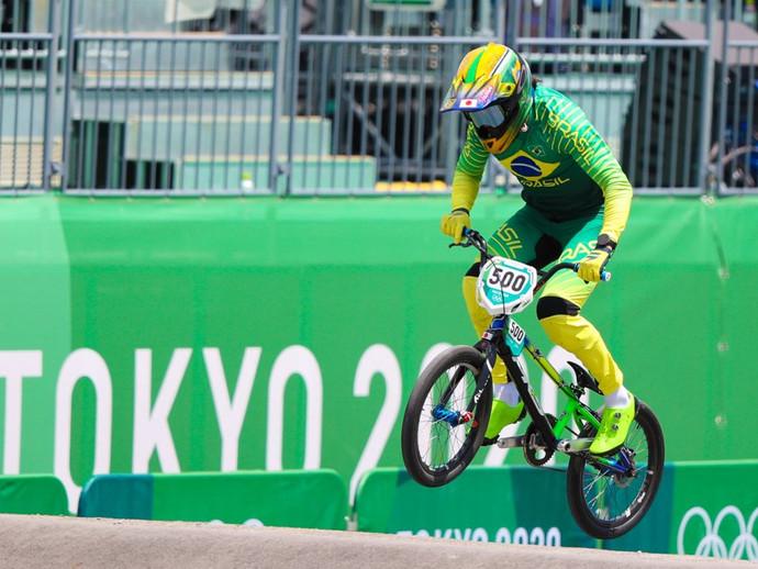 Renato Rezende avança para as semifinais do BMX Racing nos Jogos de Tóquio-2020