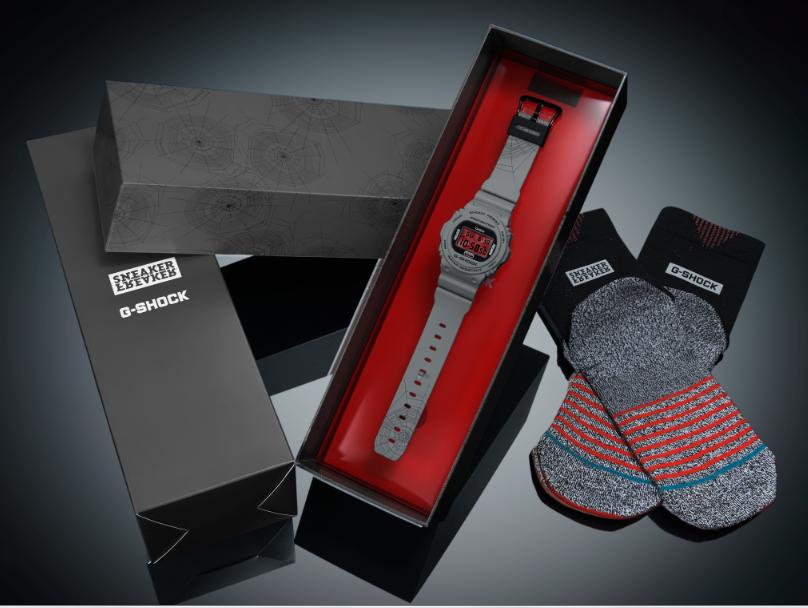 Kit G-Shock Sneaker Freaker / Divulgação