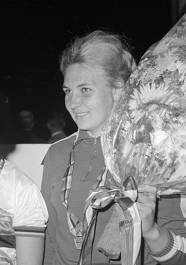 Galina Yermolayeva em 1968 / Reprodução Youtube