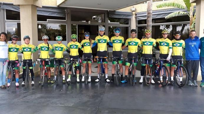 Rafael Andriato e Flávia Oliveira foram os destaques da Seleção Brasileira no Pan-Americano de Cicli