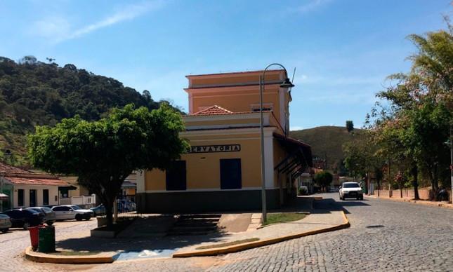 Estação de trem da bucólica Conservatória / Divulgação
