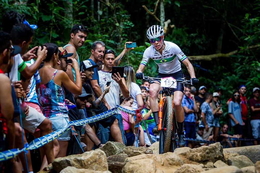 Jaqueline na etapa de abertura da temporada 2019 em Itaipava / Divulgação