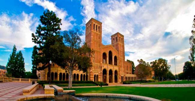 Prédio da UCLA / Divulgação