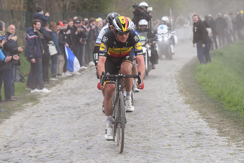 Os paralelepípedos da Paris-Roubaix / Divulgação Deceuninck - Quick-Step