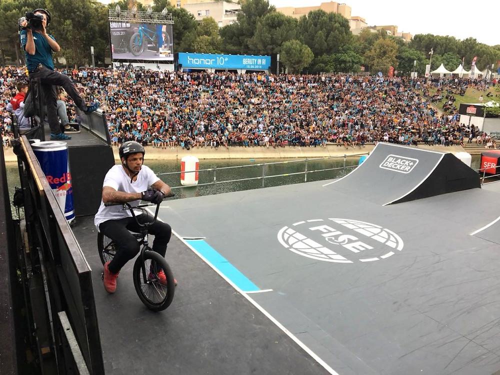 Andre Jesus em ação / CBC - Divulgação
