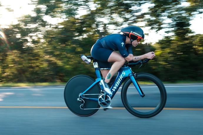 Pâmella Oliveira é vice campeã na sua estreia no Ironman Brasil