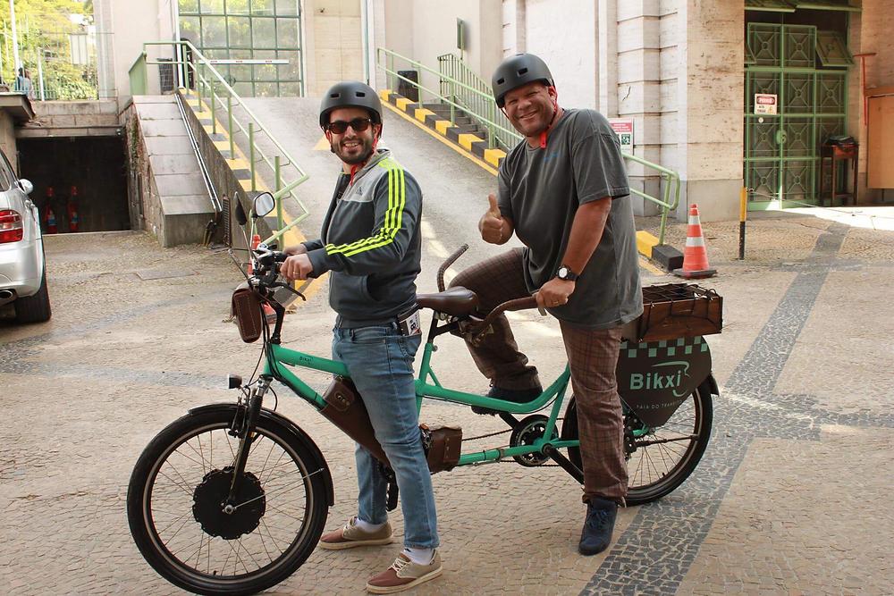 Nosso editor teve a oportunidade de usar o Bikxi no lançamento do Shimano Fest / Rafael Oliveira - Ride Bike