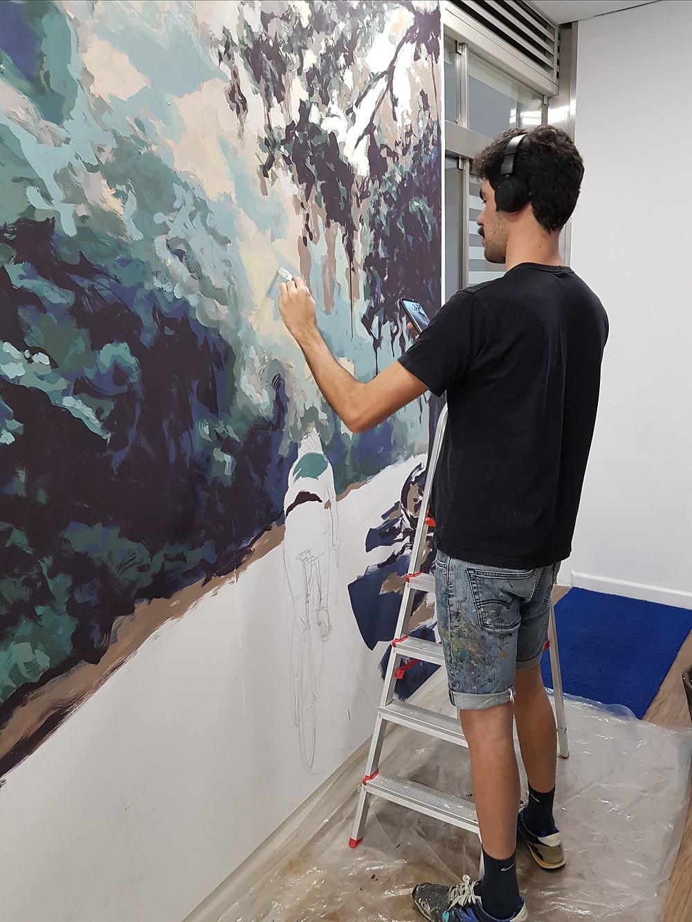 Apolo Torres fazendo arte / Divulgação