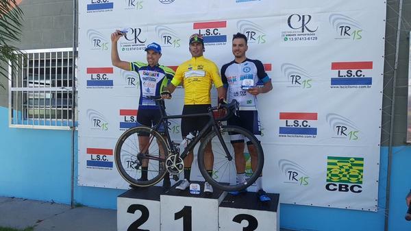 Pódio masculino da primeira etapa / Bike 76