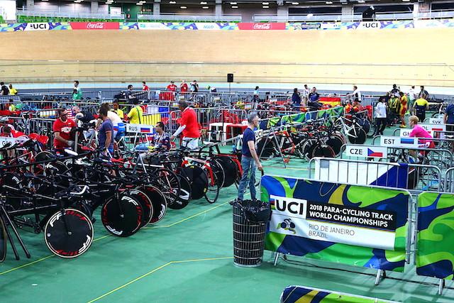 Velódromo do Rio durante o mundial de Paraciclismo / Márcio de Miranda - Planeta da Bike