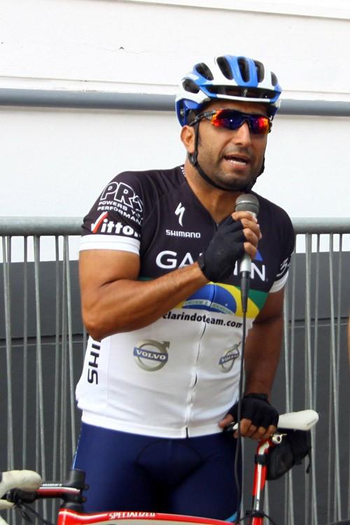 O saudoso Claudio Clarindo na edição de 2015 do Pedal das Capivaras / Divulgação Shimano