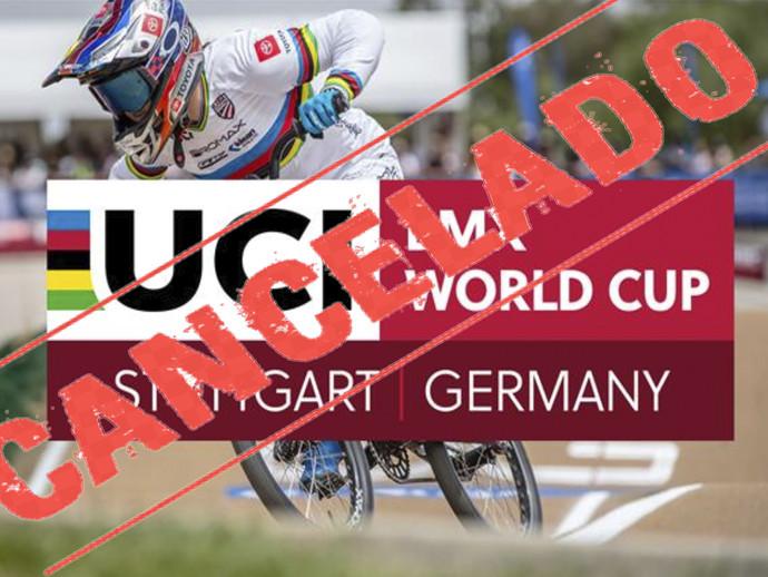 UCI BMX World Cup 2021 tem etapas de Stuttgart canceladas