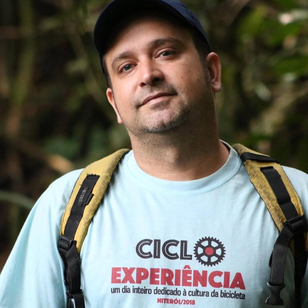Luís Araujo do coletivo Pedal Sonoro / Arquivo pessoal