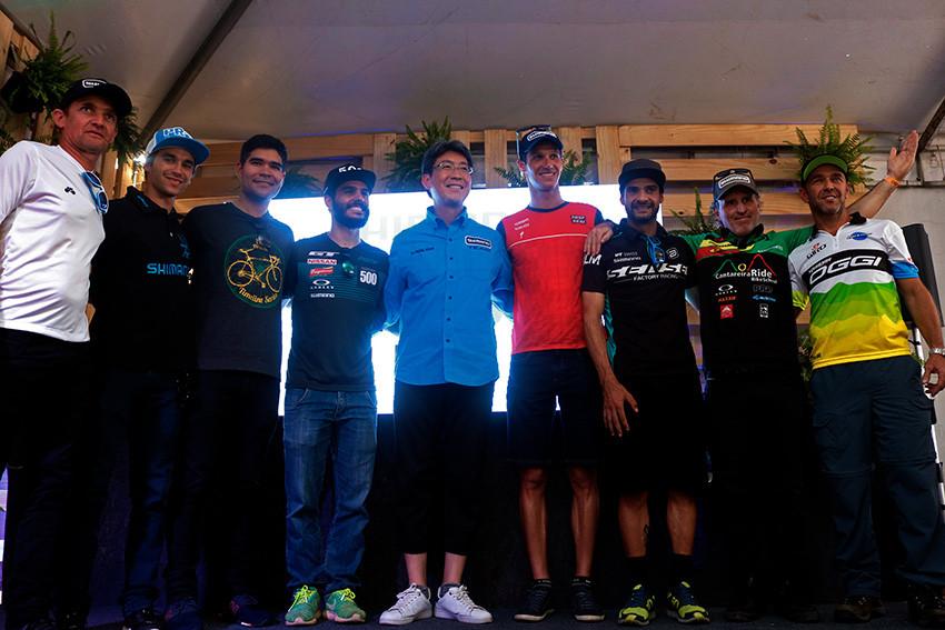 Fabio Takayanagi  e parte do Shimano Sports Team
