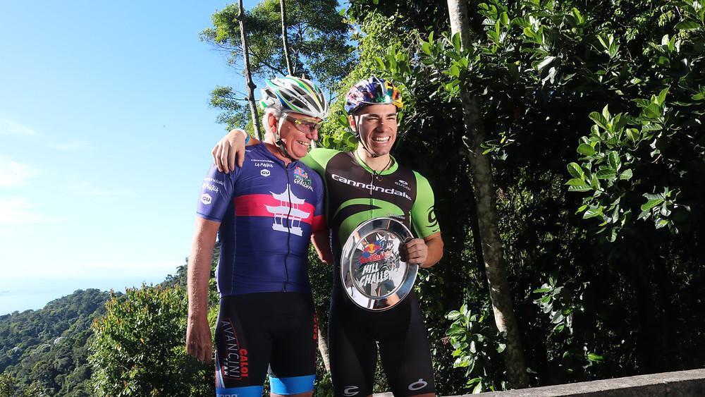 Rui e Henrique Avancini no Red Bull Hill Challenge / Márcio de Miranda - Planeta da Bike