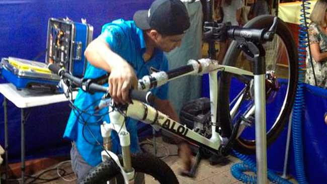 Ajuste na bike / Divulgação