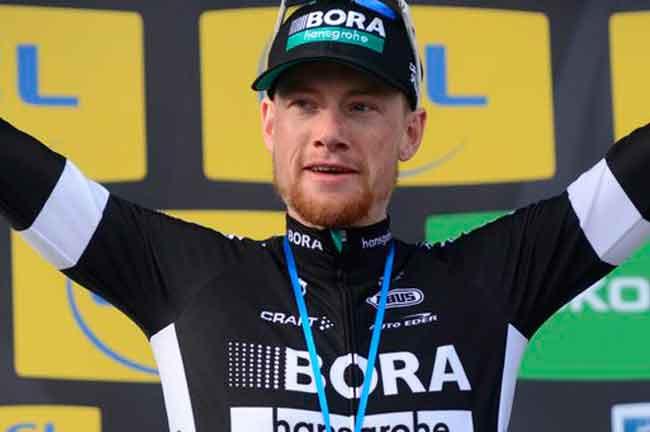 Sam e a sua primeira vitória / Divulgação Bora - Hansgroghe